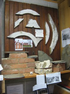 what is left displayed at The New Indian Ridge Museum