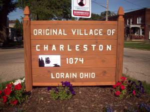 Charleston Village Marker