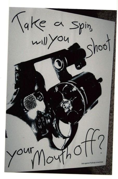 Free Speech artwork - Christopher Ritchey