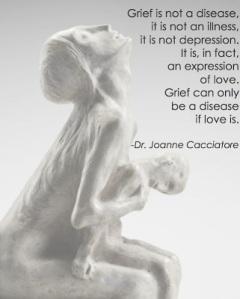 Grief is not disease
