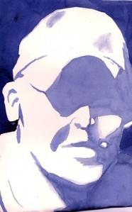 a self-portrait Chris Ritchey