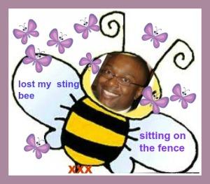 butterfly  bee