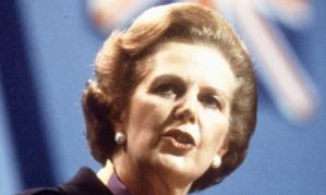 Margaret Thatcher in 1982.