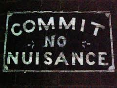 commit nuisance