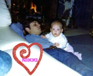 nikki and dad