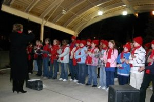 TMC News photo  of the 11th  annual Light Up Lorain