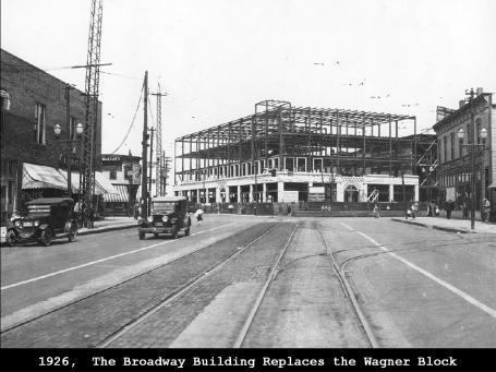 Building the Broadway  Building 1926- Dennis Lamont
