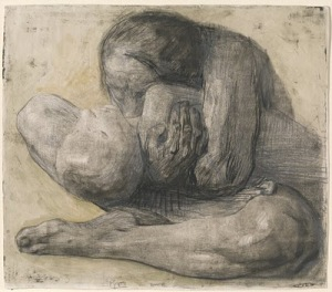 Woman with  dead child  1903 Kathe Kollwitz