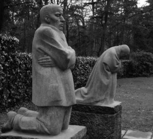 The Parents ( memorial) Kathe Kollwitz 1932