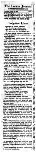 June 10 1960 Lilacsres