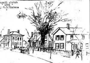 Village sketch 1891
