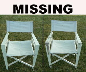 Missing- Photo altered to show age progression.)