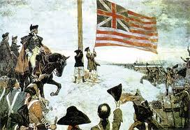 raising of te grand union flag