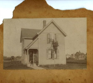 original photo  Gillmore House  403 Oberlin Ave.
