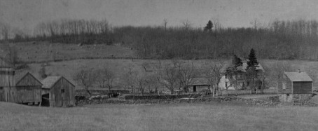 edited photograph of possible Gillmore Farm Massachuset