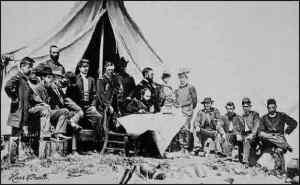 Gen Gillmore at Camp