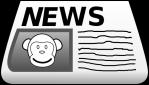 newspaper-clip-art-monkey-news-hi