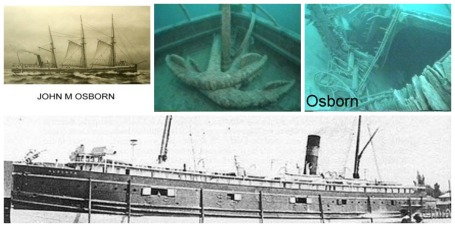 Osbourne/Alberta shipwreck photos Bob Epson