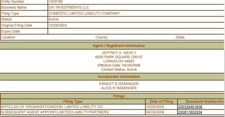EAI LLC info
