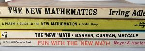 Spines_of_New_Math_paperbacks_from_1960s