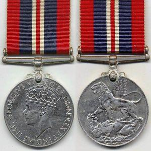 George 5th medal