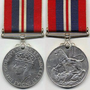 George 5th medal