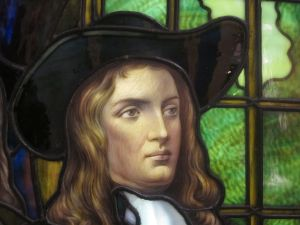Frederick S. Lamb's painting of William Penn at the Brooklyn Museum